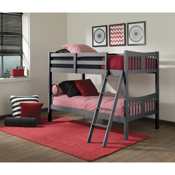 Zipporah Twin Over Twin Bunk Bed By Harriet Bee by Harriet Bee Savings