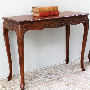 Shop For Abramson Hand Carved Console Table ByAstoria Grand