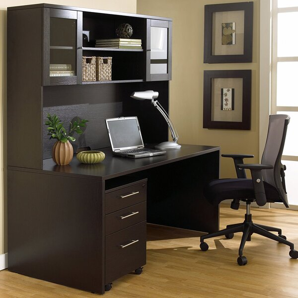 Pro X Executive 3 Piece Desk Office Suite by Haaken Furniture