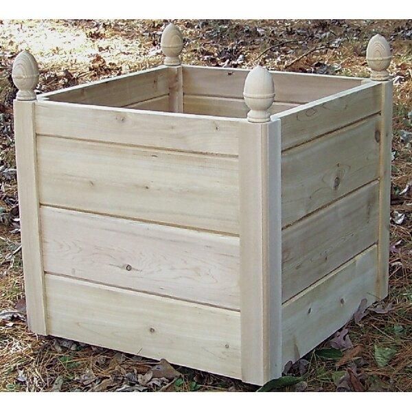 Cedar Planter Box by Bar Harbor Cedar