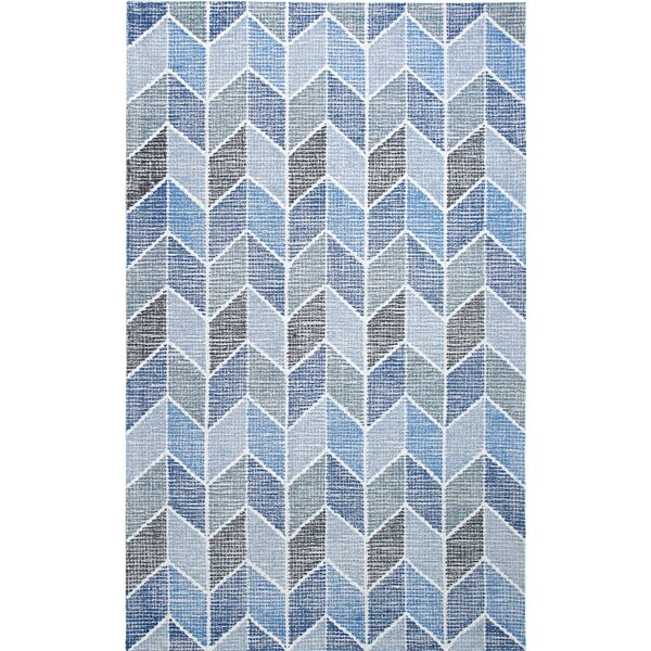 Ember Handmade Blue Area Rug by Dynamic Rugs