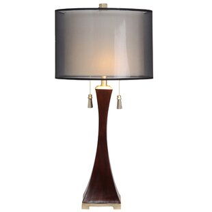 Compare prices Selma 32.5 Table Lamp By Red Barrel Studio