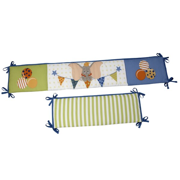 Dumbo Padded Crib Bumper by Disney
