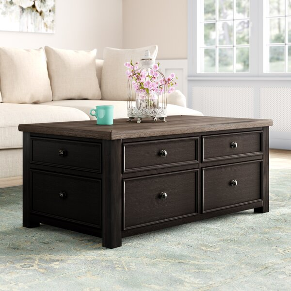 Edmore Coffee Table With Storage By Canora Grey