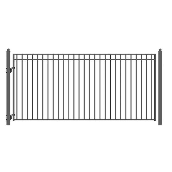 Madrid Steel Single Swing Driveway Gate by ALEKO