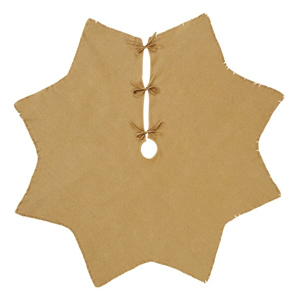 Burlap Tree Skirt by Alcott Hill