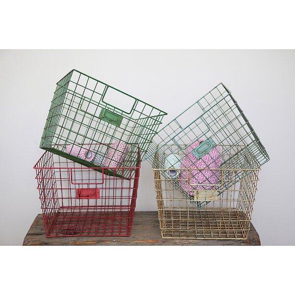Schoolhouse Metal Basket Set by Birch Lane Kids™