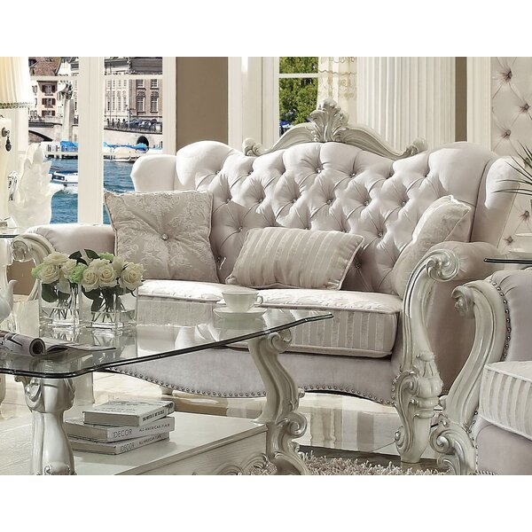 Timothy Standard Loveseat With 3 Pillows By Astoria Grand