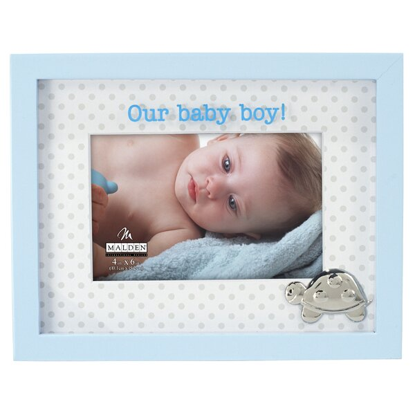 Our Baby Boy Shadowbox Picture Frame by Malden