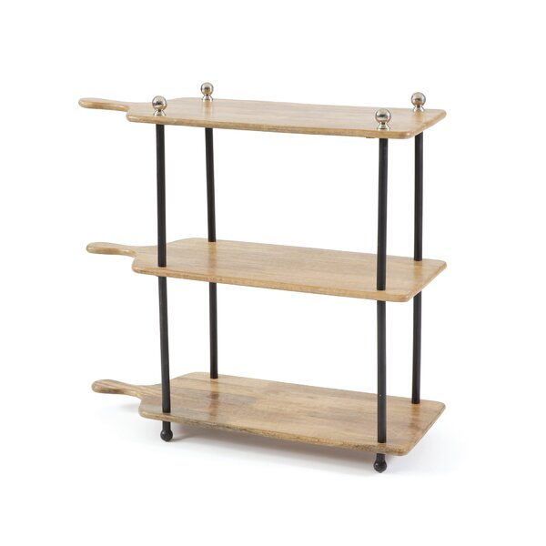Hartwell 3 Tiered Etagere Bookcase by 17 Stories