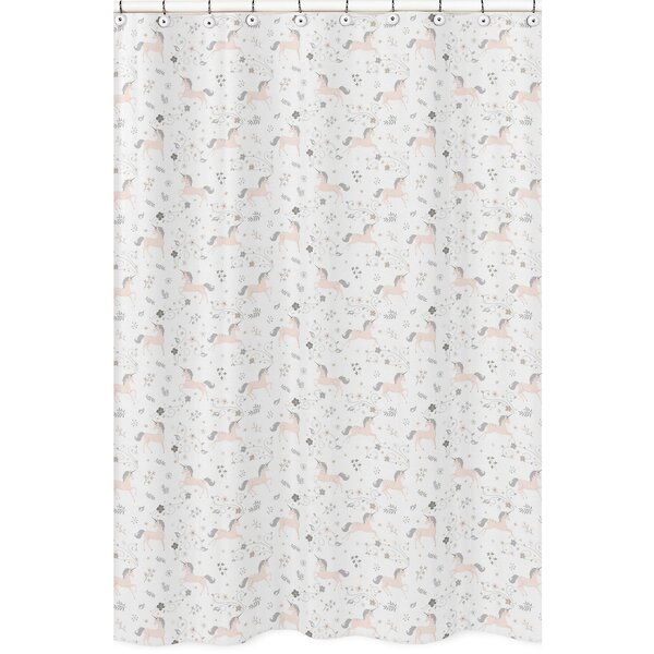 Unicorn Shower Curtain by Sweet Jojo Designs