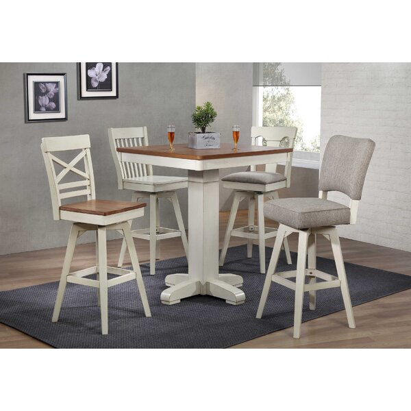 Choices 5 Piece Counter Height Solid Wood Dining Set by ECI Furniture ECI Furniture