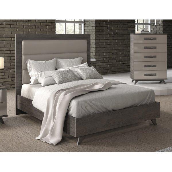 Jeterson Upholstered Panel Bed by Brayden Studio