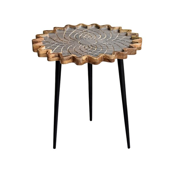 Shellsburg 3 Legs End Table By World Menagerie