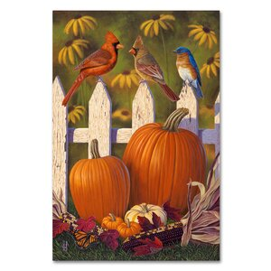 'Autumn Harvest' Print on Wrapped Canvas by Trademark Fine Art