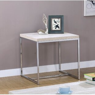 Compare Mackelprang End Table By Orren Ellis