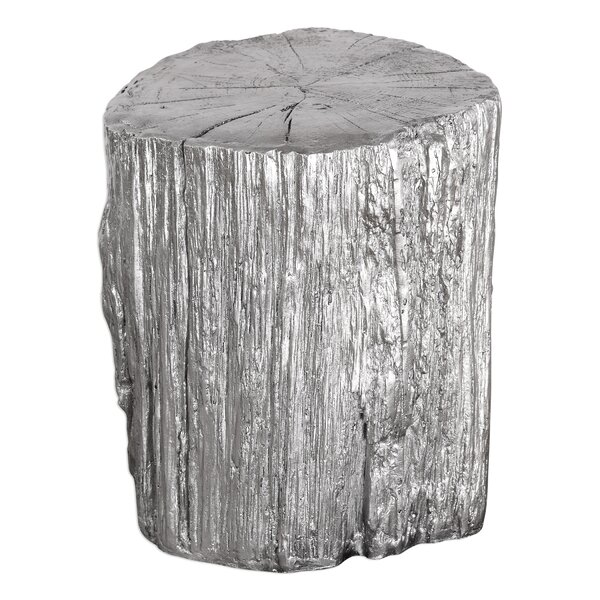 Orianna Tree Stump Stool by Brayden Studio