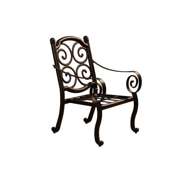 Westhampton Patio Dining Chair (Set Of 2) By Fleur De Lis Living