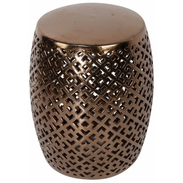 Chase Geometric Cutout Garden Stool by Everly Quinn