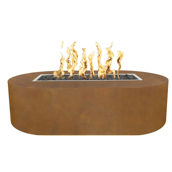 Bispo Steel Fire Pit by The Outdoor Plus