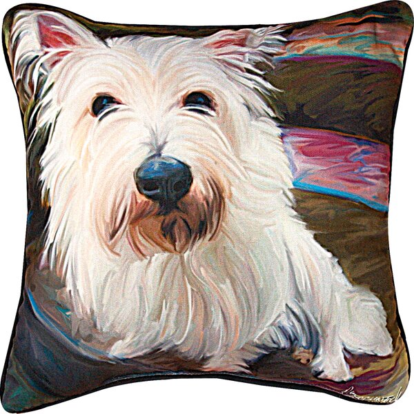 Little Westi Throw Pillow by Manual Woodworkers & Weavers