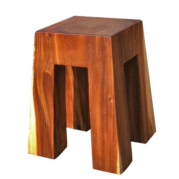 Bell Solid Wood Stool by Asian Art Imports