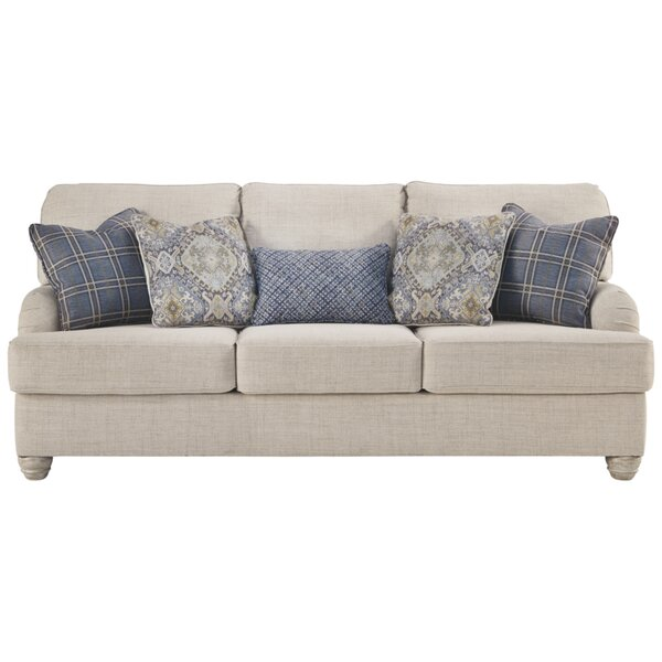 Wyler 91'' Charles Of London Sofa By Red Barrel Studio