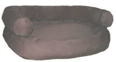 Double Bolster Couch Dog Bed by Mammoth Dog Beds