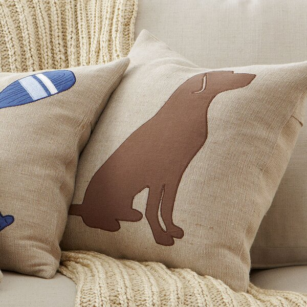 Lakeview Lab II Pillow Cover by Birch Lane™