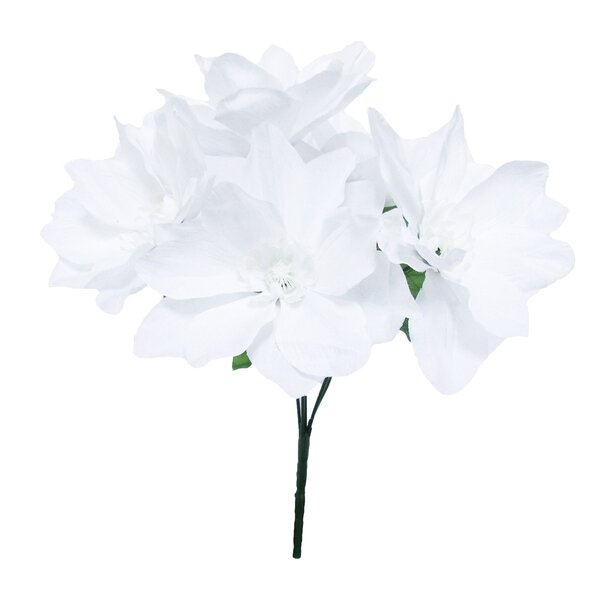 Magnolia Bush Floral Arrangement (Set of 12) by House of Hampton