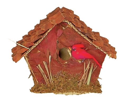 Decorative Birdhouse by Worth Imports