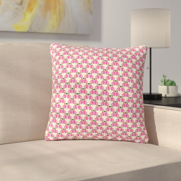Mayacoa Studio Rosea Outdoor Throw Pillow by East Urban Home