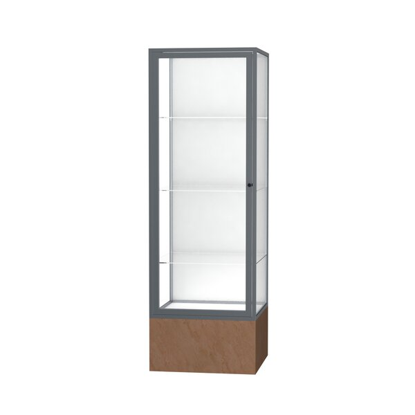 Monarch Series Floor Display Case by Waddell