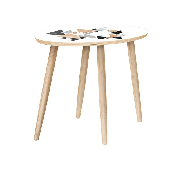Gower End Table by Bungalow Rose