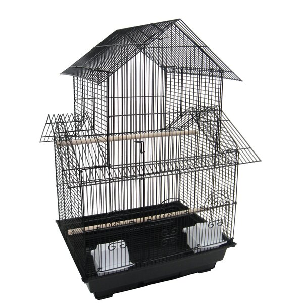 Double Roofs  Bird Cage by YML