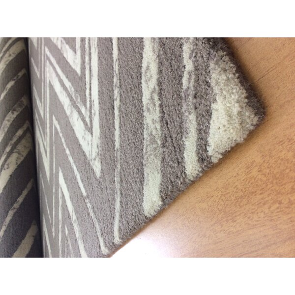 Wool Hand-Tufted Brown/Ivory Area Rug by Eastern Weavers