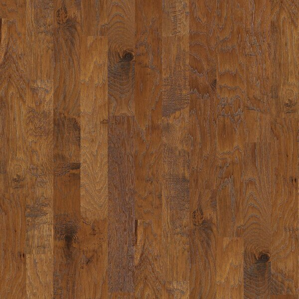 Evergreen 5 Engineered Hickory Hardwood Flooring in Crystal Cave by Shaw Floors
