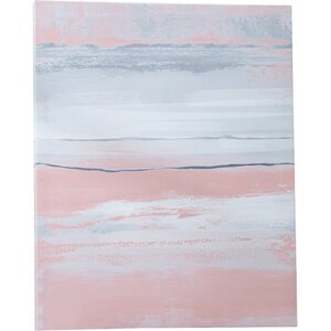 'Blush' Painting Print on Canvas by Mercury Row