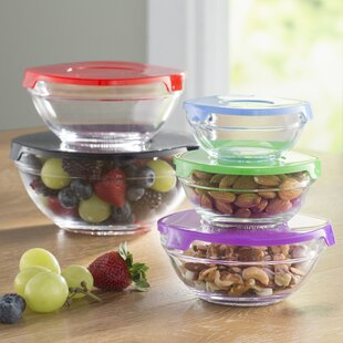 Wayfair Basics Gl 5 Container Food Storage Set