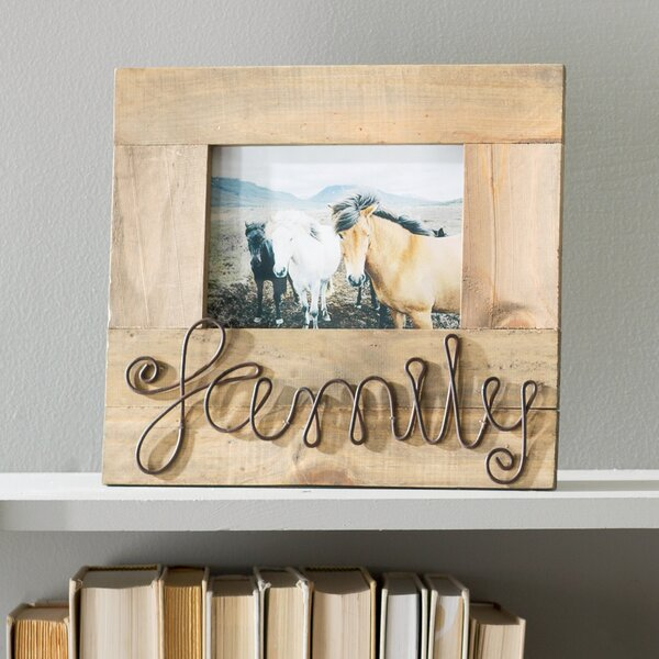 Catharina Family Picture Frame by Gracie Oaks