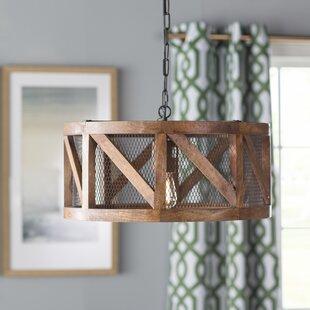 Best Deals Tiefort 1-Light Pendant By Loon Peak