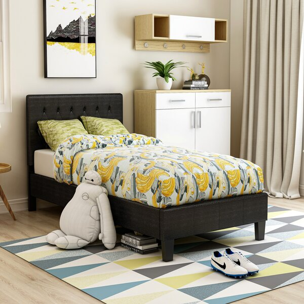 Clio Upholstered Platform Bed by Hokku Designs