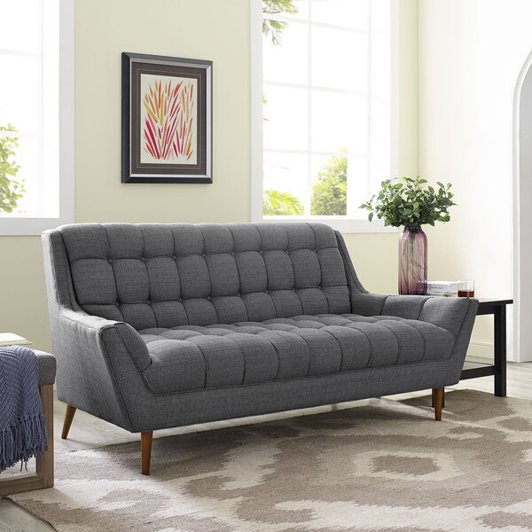 Explore New In Fiske Sofa by Ivy Bronx by Ivy Bronx