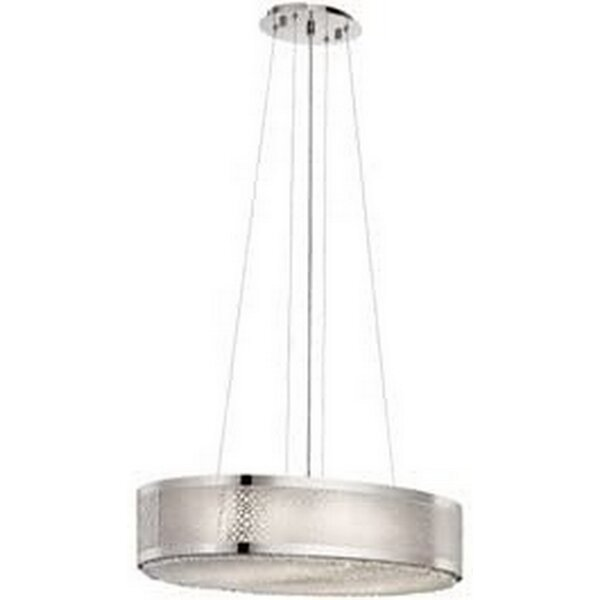 Brumbaugh 6 - Light Unique / Statement Drum Chandelier by Mercer41 Mercer41