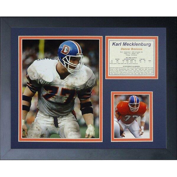 Karl Mecklenburg Framed Memorabilia by Legends Never Die