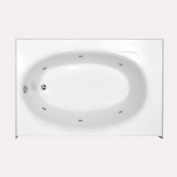 Builder Kona 60 x 42 Whirlpool Bathtub by Hydro Systems