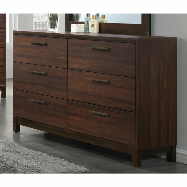 Evelynnn 6 Drawers Double Dresser by Foundry Select