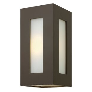 Online Reviews Elswick 2-Light Outdoor Flush Mount By Latitude Run