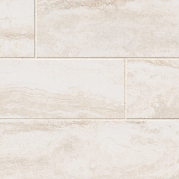 Pietra Bernini 4 x 18 Porcelain Field Tile in Beige by MSI