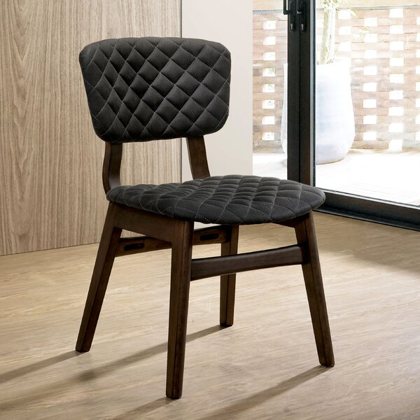 Eager Upholstered Dining Chair (Set of 2) by George Oliver